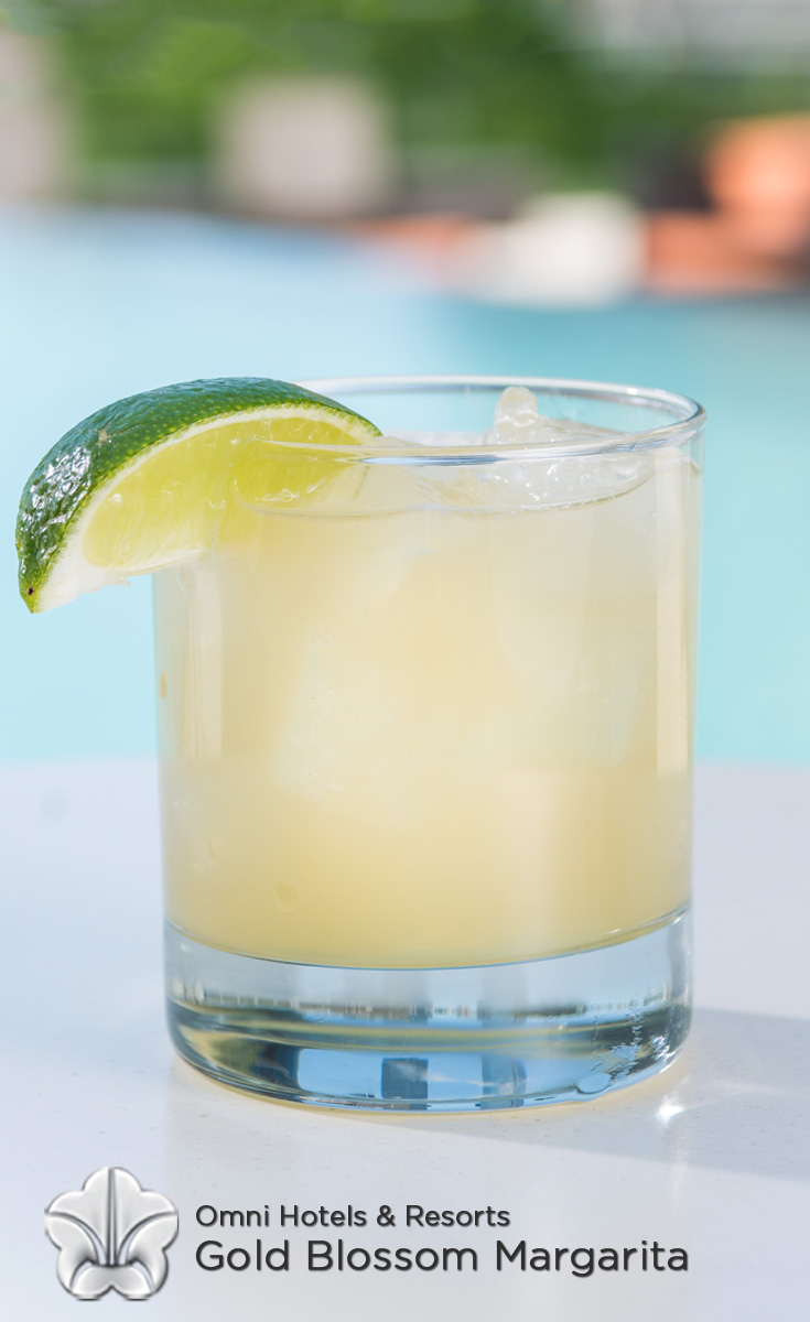 Cocktails with Honey - Gold Blossom Margarita