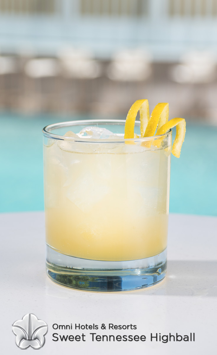 Cocktails with Honey - Sweet Tennessee Highball