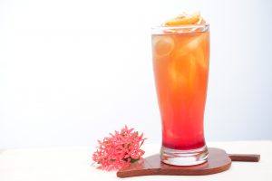 fruit punch cocktail