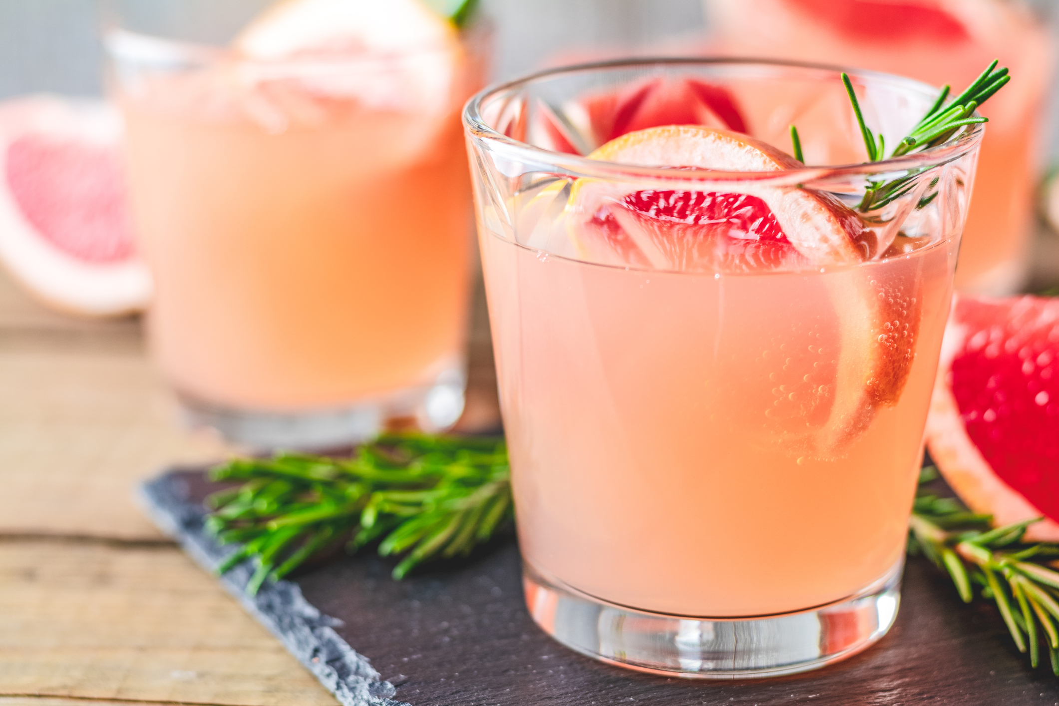 grapefruit crush honey cocktails