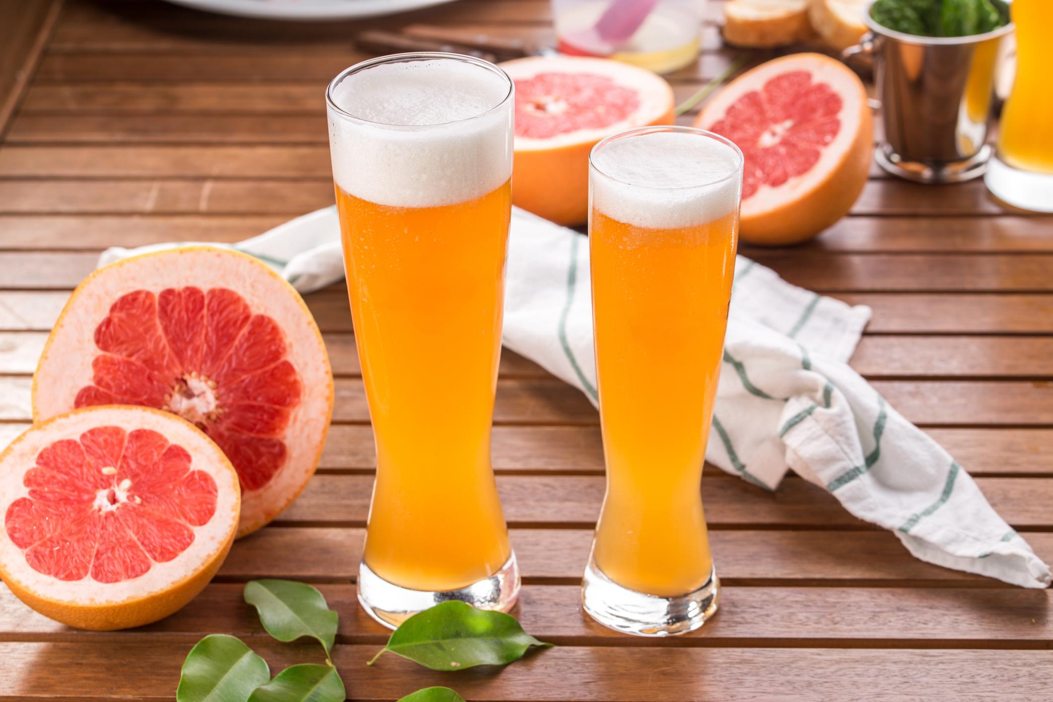 grapefrui shandy