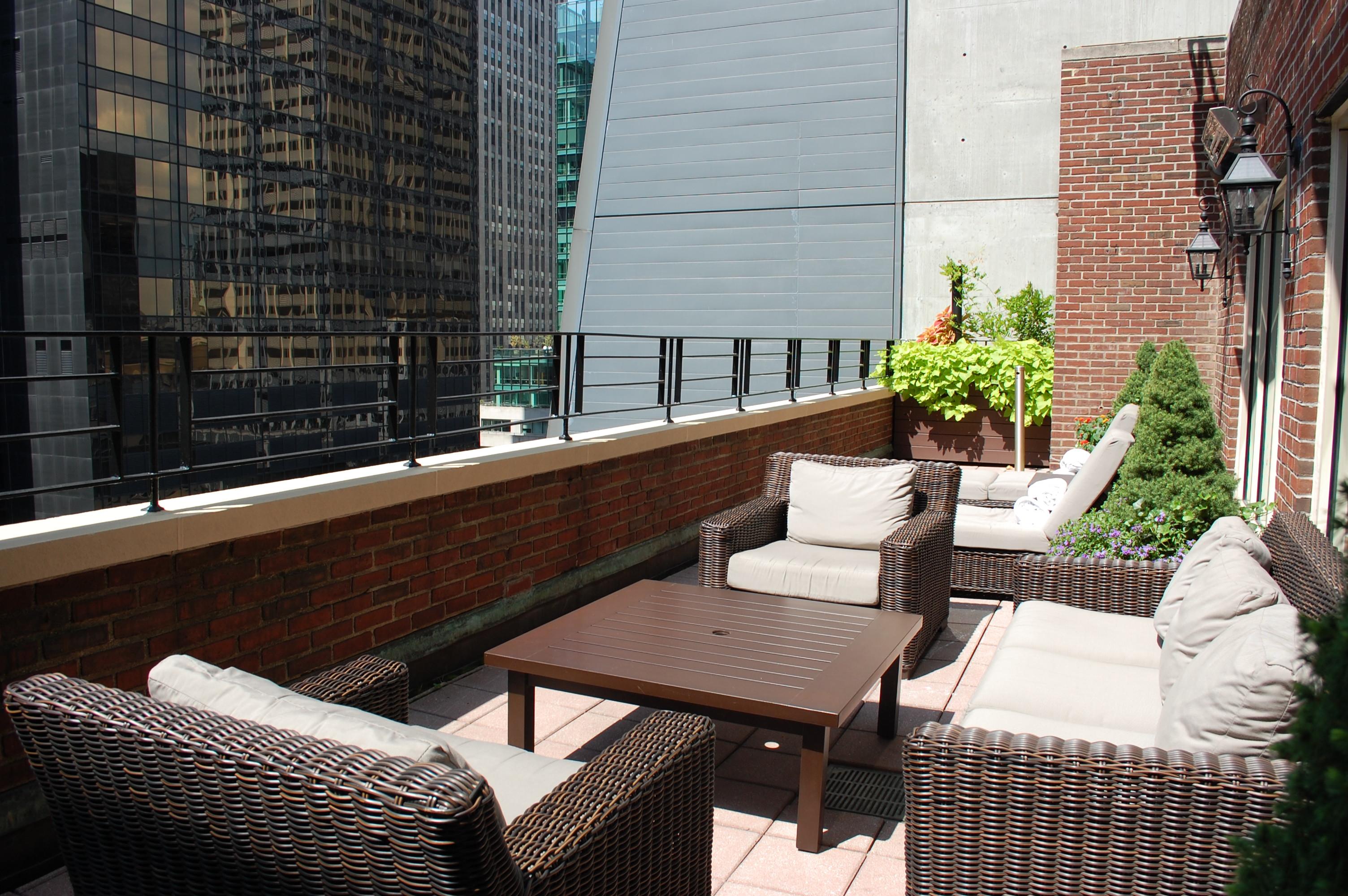 17th floor terrace
