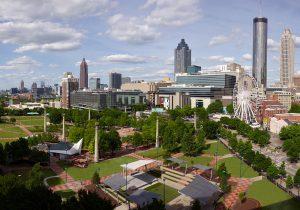 Atlanta Views Centennial Park