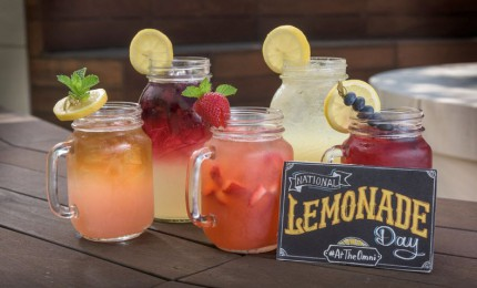 National Lemonade Day #AtTheOmni