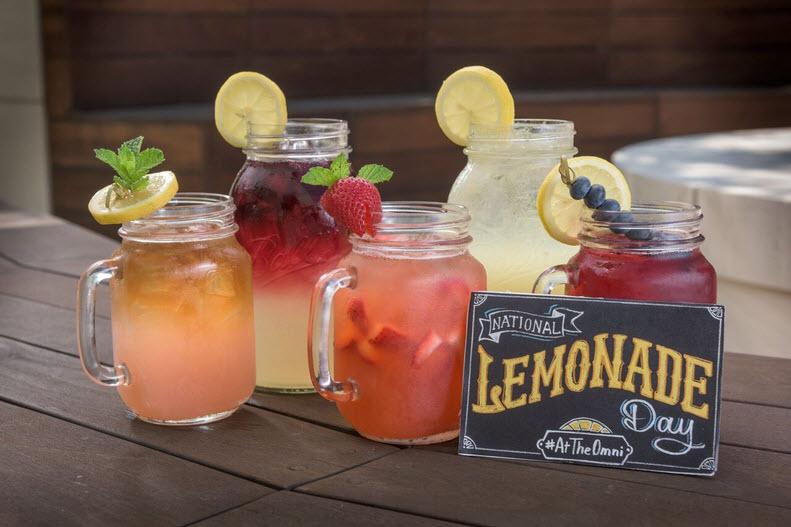 National Lemonade Day #AtTheOmni