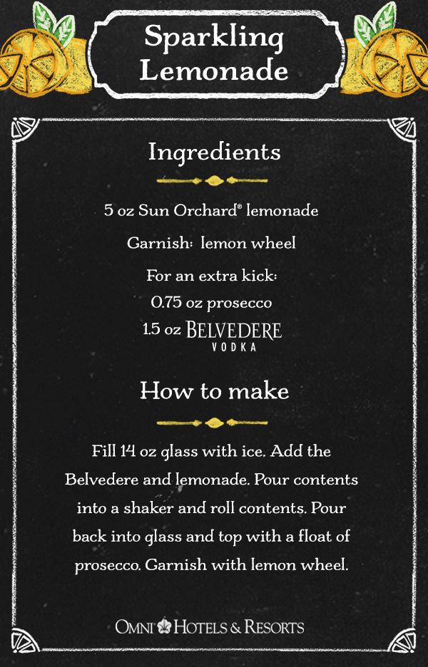 Sparking Lemonade Recipe Northeast