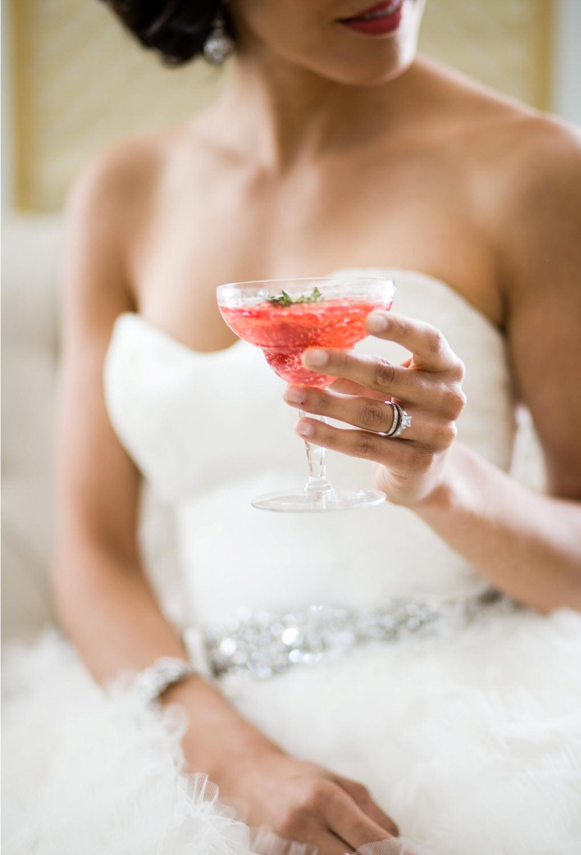 Bride's cocktail