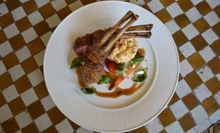 Desert To Dish: Ancho Chile Rack Of Lamb
