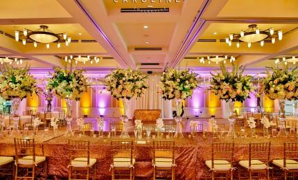 Elegant Blush + Gold Austin Wedding: Natalie + Ryan