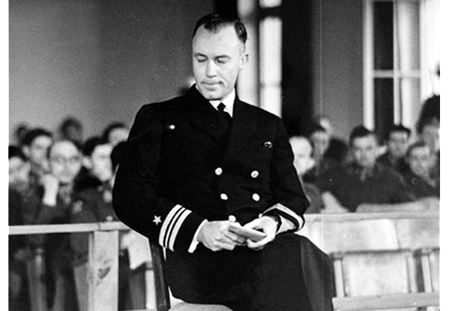 Hollywood dentist Jack Taylor, then a lieutenant commander, was a lifelong adventurer, expert swimmer, sailor, pilot and-arguably—the first SEAL. Taylor did it all—Sea, Air, and Land operations- swimming above and below the water and parachuting behind enemy lines into Austria.