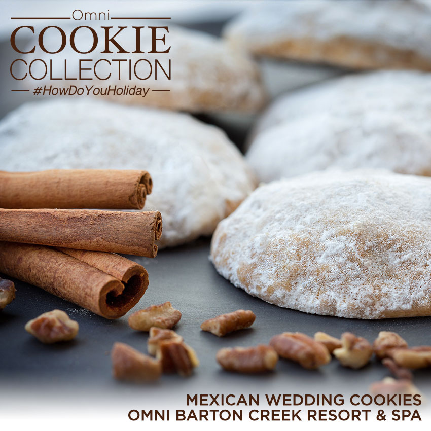 Omni Cookie Collection - Mexican Wedding Cookies