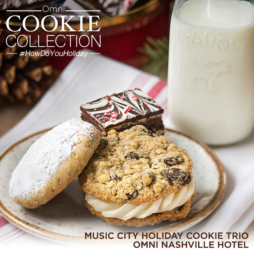 Omni Cookie Collection - Music City Holiday Cookie Trio