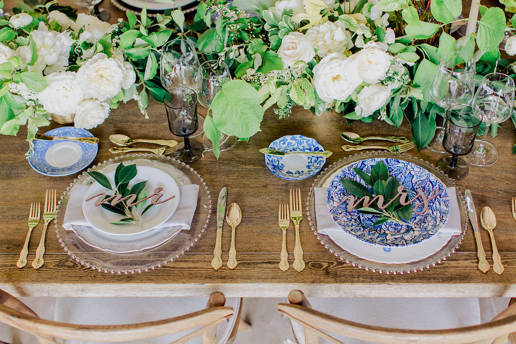 Mr. and Mrs. Reception Table