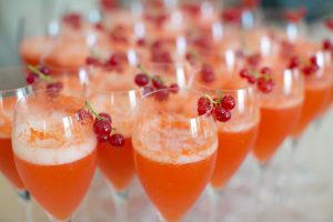 Champagne Signature Wedding Cocktail