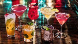 Omni Polling for Cocktails Group Shot