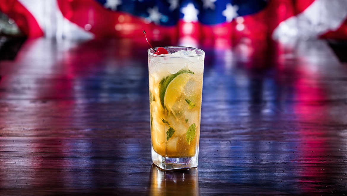 Presidential Election Cocktail Recipes - Sugar Kaine Smash