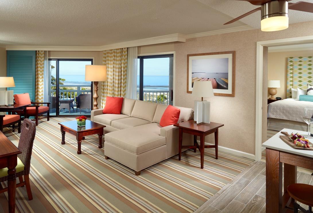 Omni Hilton Head Oceanfront Resort Suite