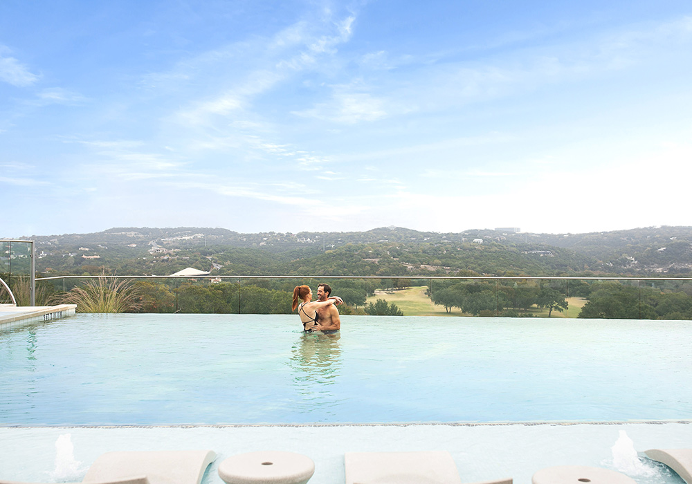Hill Country Infinity Swimming Pool