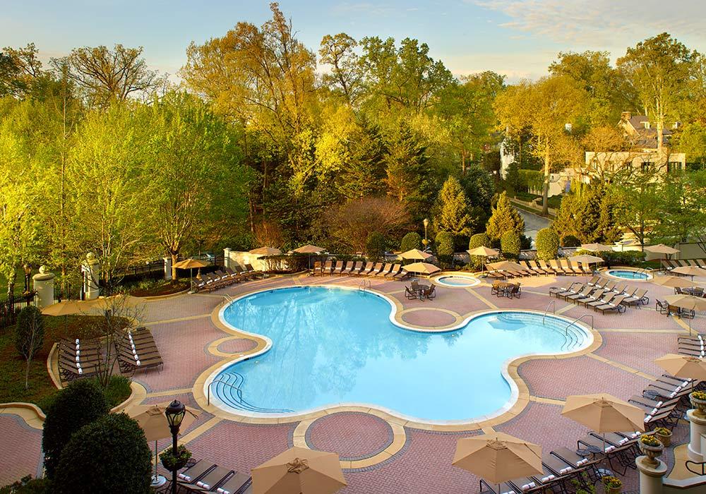 Omni Shoreham Hotel Swimming Pool
