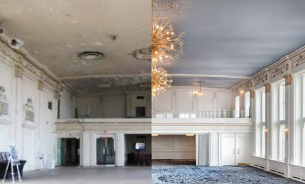 The Crystal Ballroom is back atop Omni's King Edward Hotel