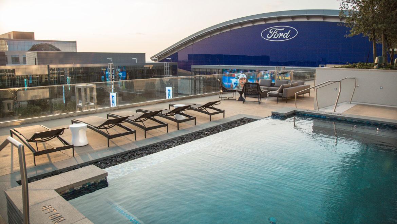 Omni Frisco Hotel pool