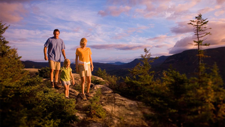 Hiking at Omni Mount Washington Resort