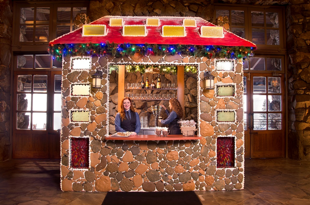 Holidays at Omni Grove Park Inn