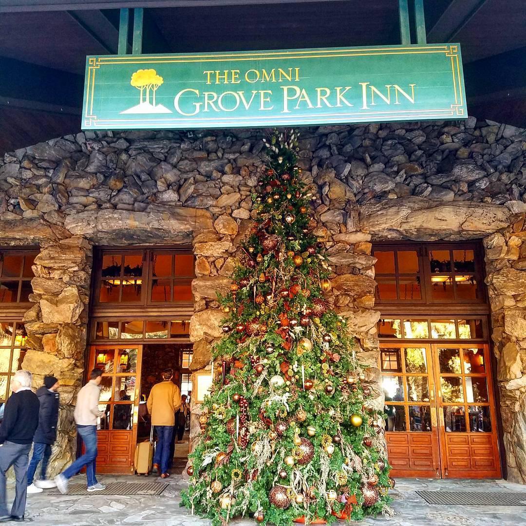 Best Holidat Destination - The Omni Grove Park Inn