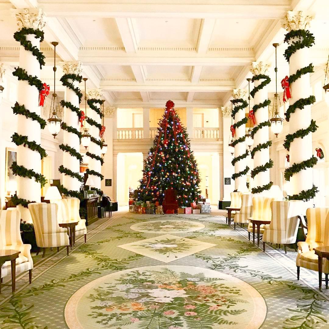 Holiday Tree at Homestead
