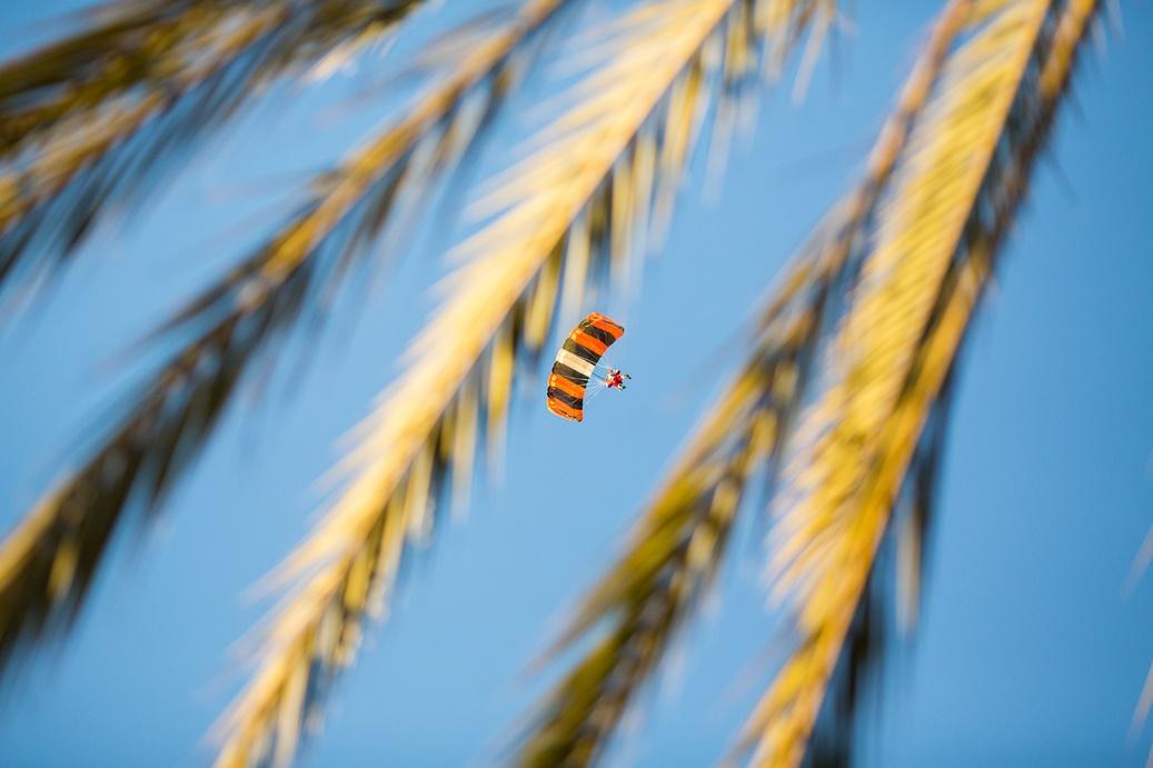 Santa Skydiving in Carlsbad