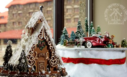 The Omni Grove Park Inn National Gingerbread House Competition