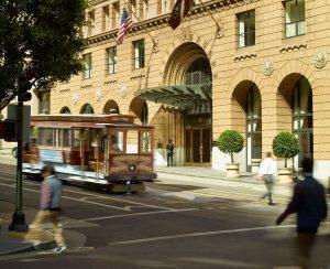 omni San francisco hotel exterior cable car