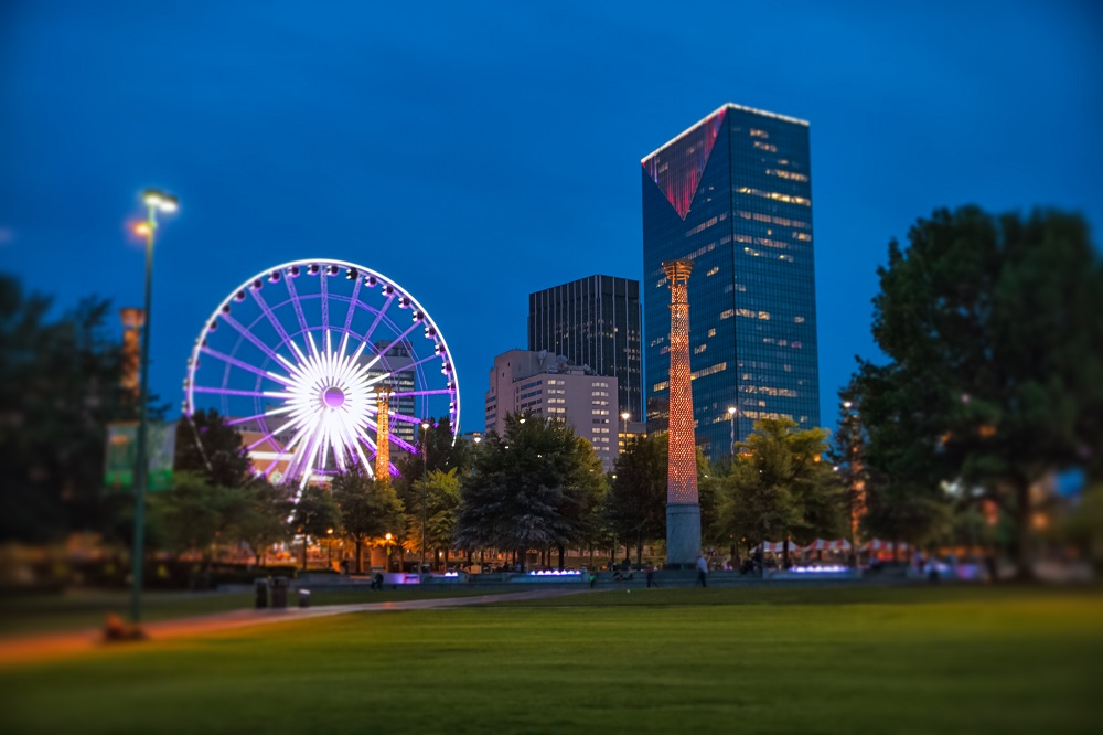 centennial park in atlanta