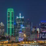 View of Dallas skyline