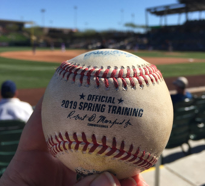spring training baseball