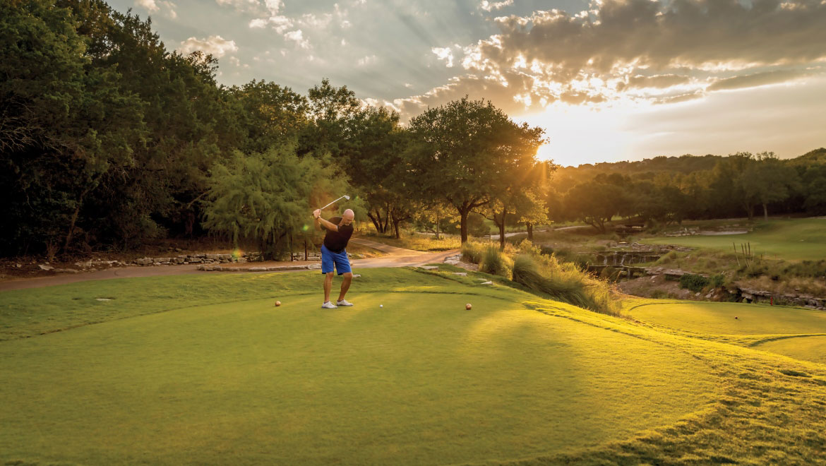 Golfing at Omni Barton Creek Resort & Spa