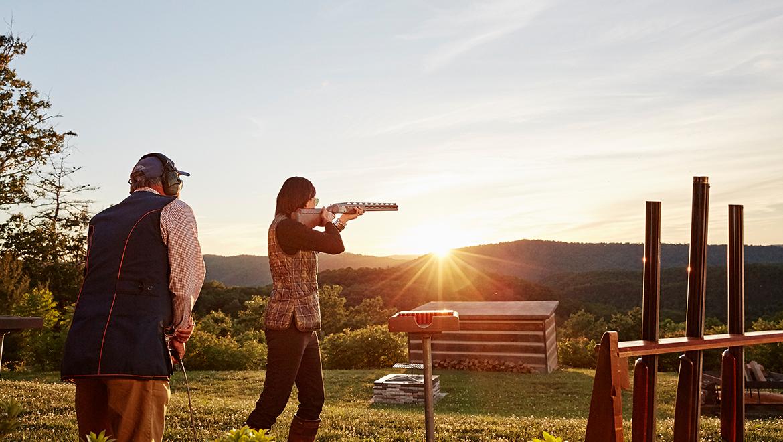 Shooting Club at The Omni Homestead Resort