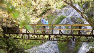 Hiking at The Omni Homestead Resort