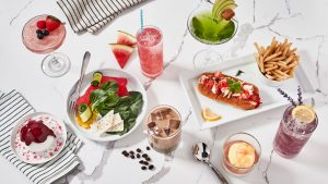 Summer of Spritz menu items