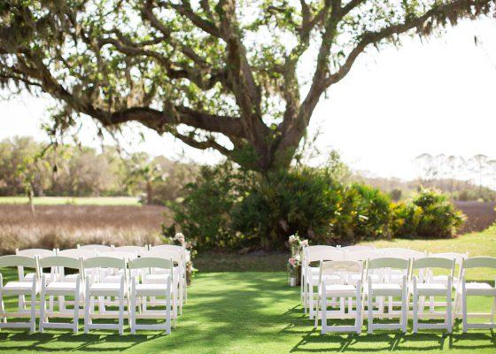 Amelia Island Wedding Set-up