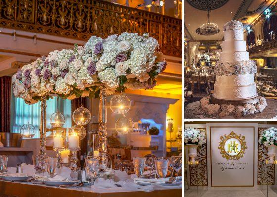 Wedding details at Omni William Penn Hotel