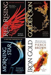 Book Cover - Red Rising Series