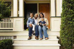 Family Porch Portrait