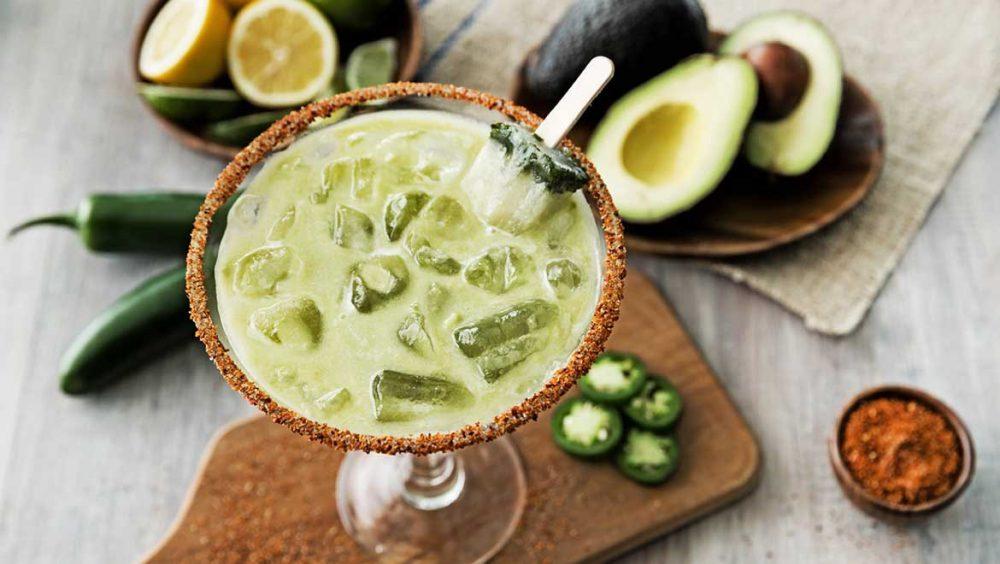 Jalapeno Avacado Margarita