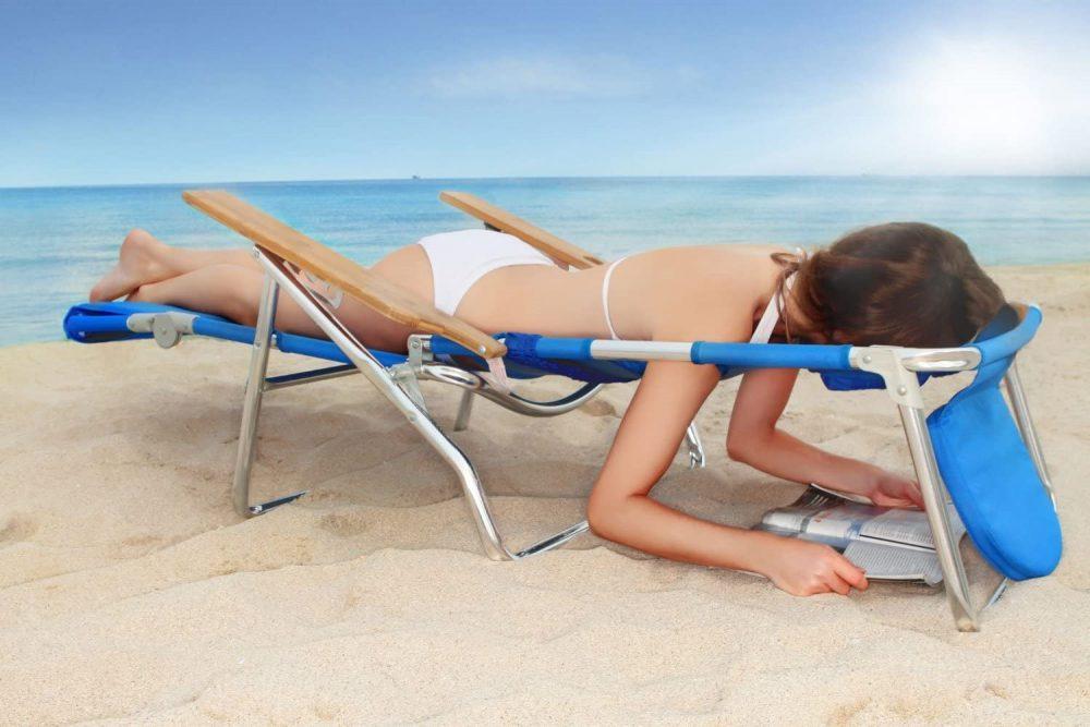 Tanning Beach chair