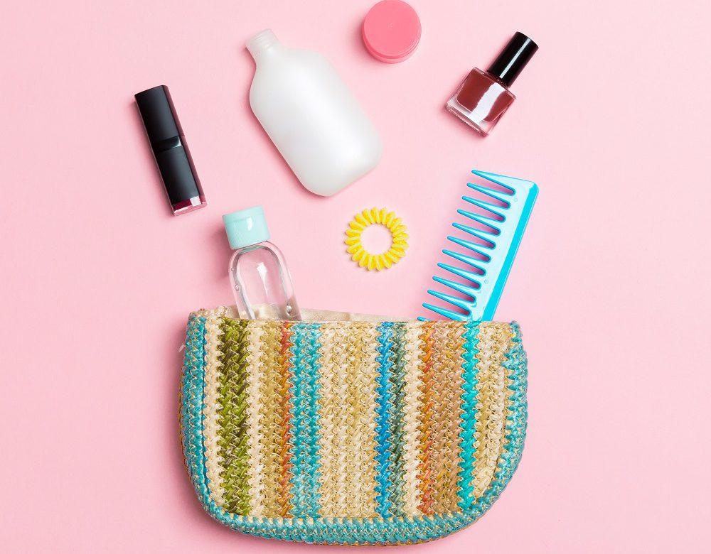 Beach bag and necessitiess