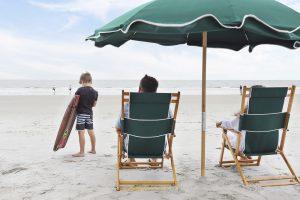Family at Hilton Head Beach