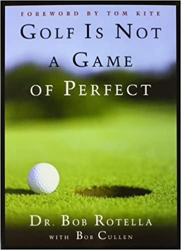 Book Cover - Golf is Not A Game of Perfect