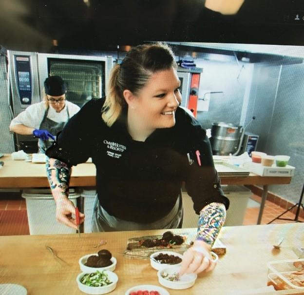 Chef Ashleigh Wright