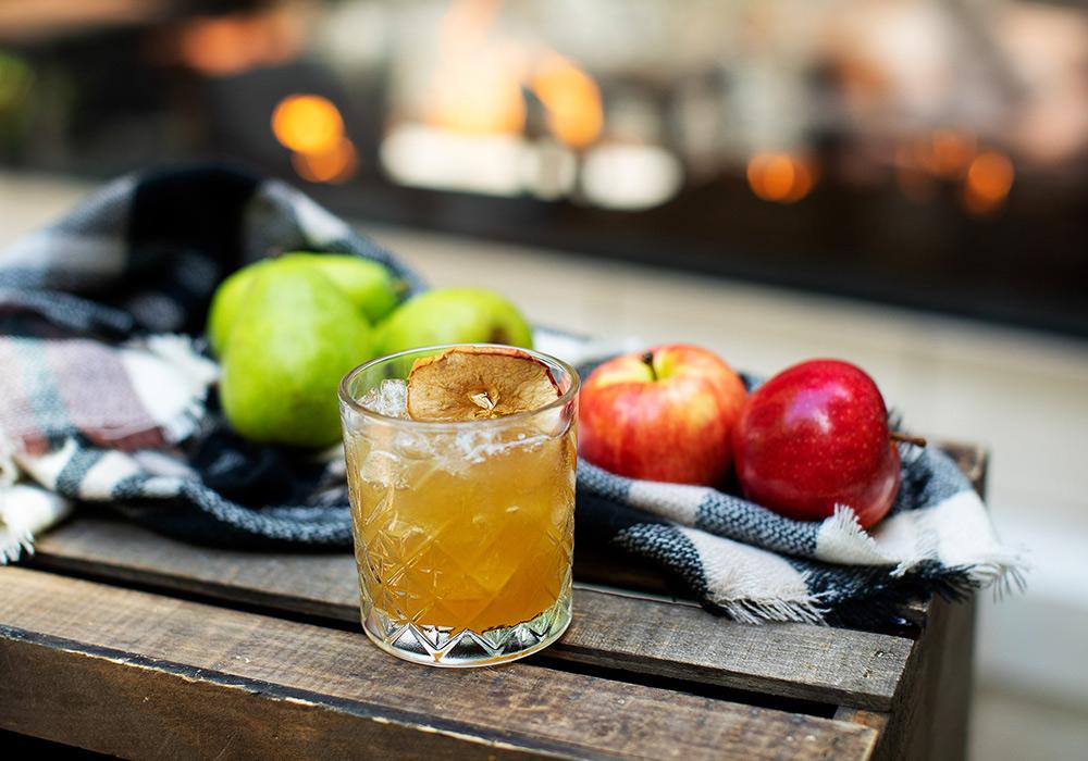 Apple Spiced Sour Mocktail